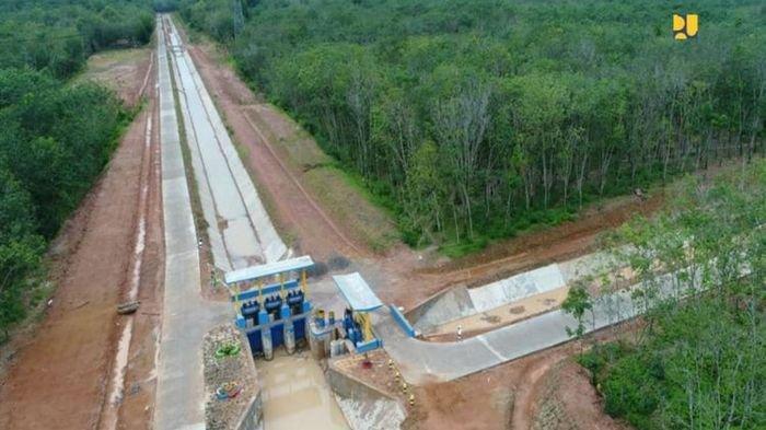 2 Paket Jaringan Irigasi di OKU Timur Sumatera Selatan Hampir Rampung