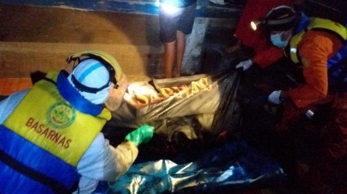 Selama 34 Pencarian, Tim SAR Gabungan Temukan Jasad Riswan Mengapung 1,2 KM dari Lokasi Tenggelam