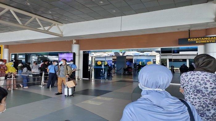 Selama Masa Larangan Mudik, 3.977 Penumpang Datang dan Terbang Via Bandara SMB II Palembang