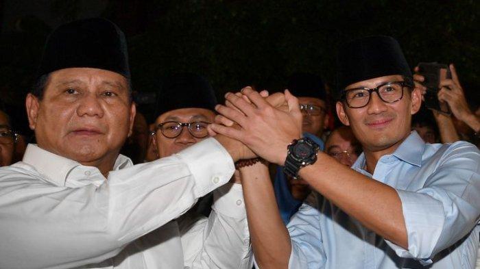 Jelang Pelantikan Presiden, Ini yang Terjadi Pada Prabowo Subianto & Sandiaga Uno, sampai Minta Doa!