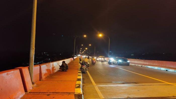 Jaga Jembatan Musii IV Agar Tak Disinggahi Warga, 50 Personil Gabungan Jaga di Tempat