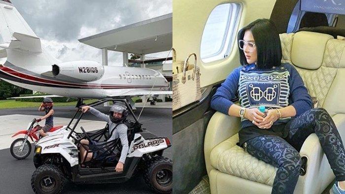 Jet Pribadi Syahrini Diragukan, Ternyata Ini Artis Pemilik Jet Pribadi, No 7 Miliki Bandara Sendiri!