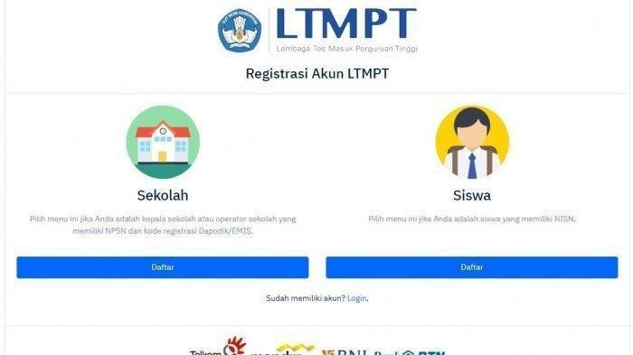 Ini 9 Tahap Penting Daftar SNMPTN 2020 di Website LTMPT, Buat Akun Sampai Cetak Kartu Pendaftaran