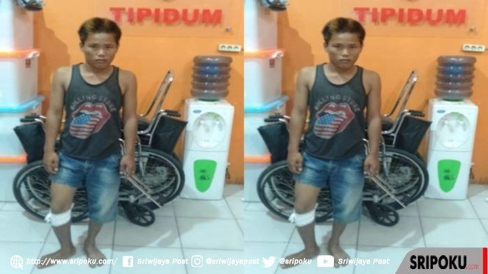 Tim Shadow Walet Polres OKU Timur Tembak Seorang Pemuda Pembobol Rumah H Ibrahim