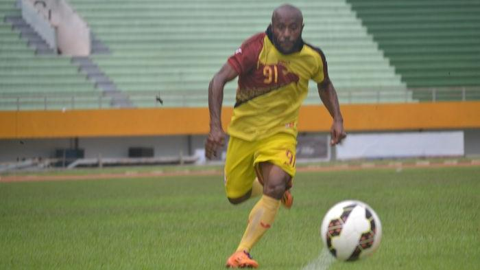 Johanis Nabar, pemain Sriwijaya FC