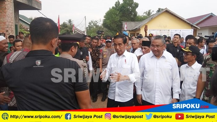 Kunjungi Banyuasin, Ini Jawaban Presiden Jokowi Mengenai Siapa yang Bakal jadi Cawapresnya