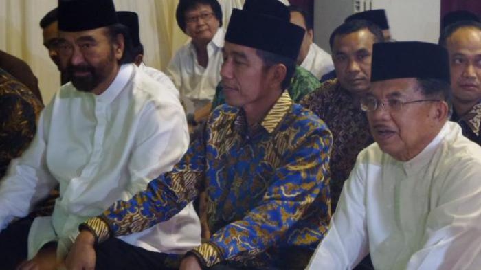Ada Apa Surya Paloh Diam-diam, Temui Jokowi di Istana?