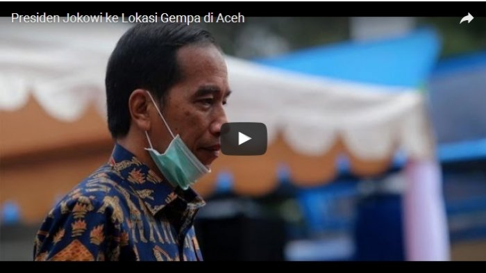 BREAKING NEWS: Presiden Jokowi Temui Korban Gempa di Aceh