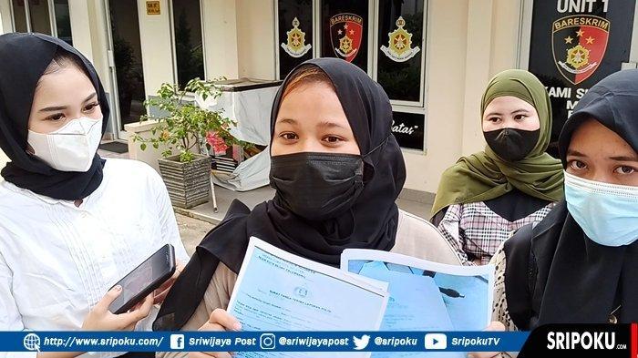 OWNER Arisan Online tak ada Itikad Kembalikan Uang Member, 4 Wanita Ini Pilih Datangi Polda Sumsel
