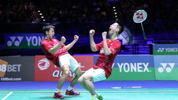 Jadwal Turnamen Bulutangkis Dunia 2021, Marcus/Kevin di Malaysia Open, Jonatan di All England Open