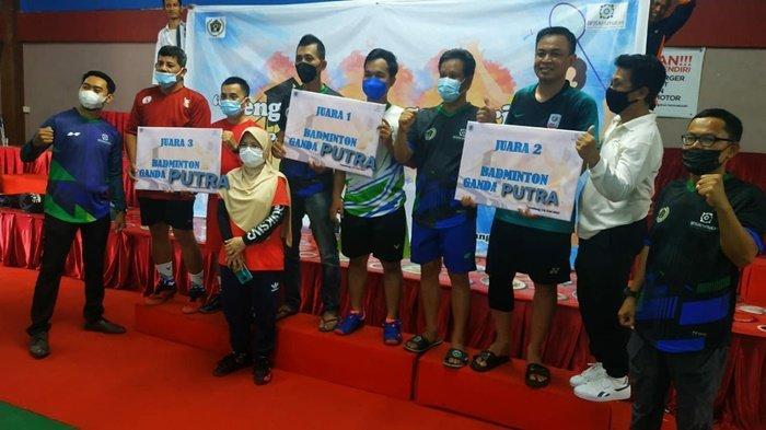 Demi Silaturahmi Wartawan, PWI Sumsel Gelar Gathering Bulutangkis dan Tenis Meja