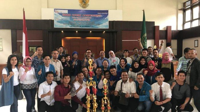 Singkirkan Sepuluh Kampus se-Sumbagsel, FH Unitas Palembang Juara MCC Peradi