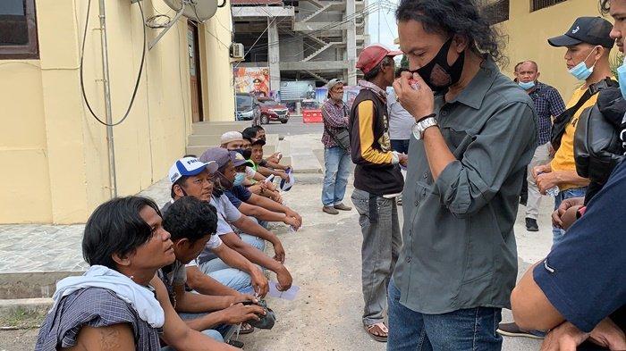 Jatanras Polda Sumsel Tangkapi Preman, Jukir di Pasar 16 Ilir Palembang Ini Sudah 4 Kali Ditangkap