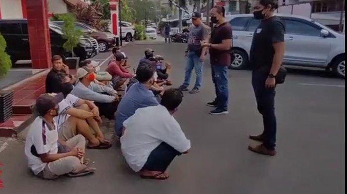 Kanit Reskrim Polsek IB 1 Palembang Iptu Arlan Pimpin Razia Premanisme, Belasan Jukir Liar Diamankan