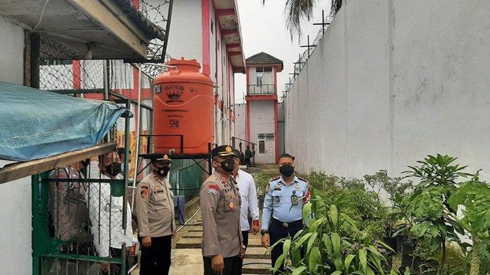 Buntut Kebakaran Lapas Tangerang,Polres Muratara Sumbang CCTV ke Lapas Surulangun Rawas