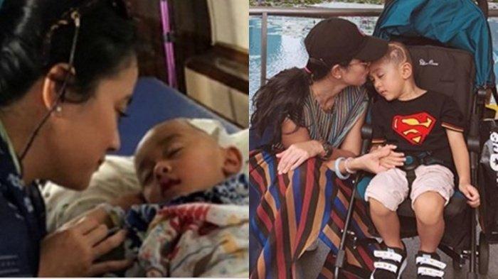 Dari Kecil Putranya Idap Kanker Otak, Marcella Zalianty Ungkap Kondisi saat Kambuh: Migraine Double