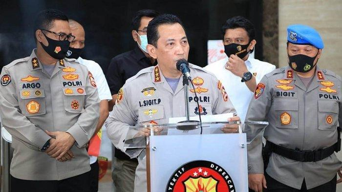 BREAKING NEWS: Listyo Sigit Prabowo Resmi Jadi Calon Tunggal Kapolri, Diajukan Jokowi ke DPR