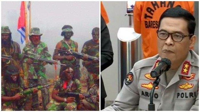 Terjepit di Puncak, 4 Pasukan Elite Kunci 9 Kelompok KKB Papua, Polri Imbau Menyerah dan Ajak Dialog