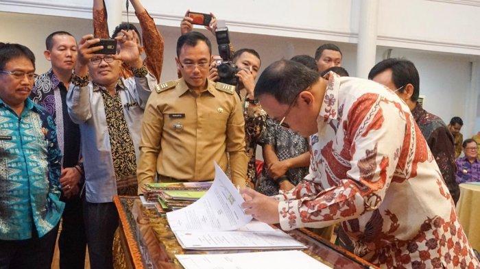 Kabupaten Musi Banyuasin Tercatat Peringkat Kedua Daerah yang Menerapkan Sistem Pencegahan Korupsi