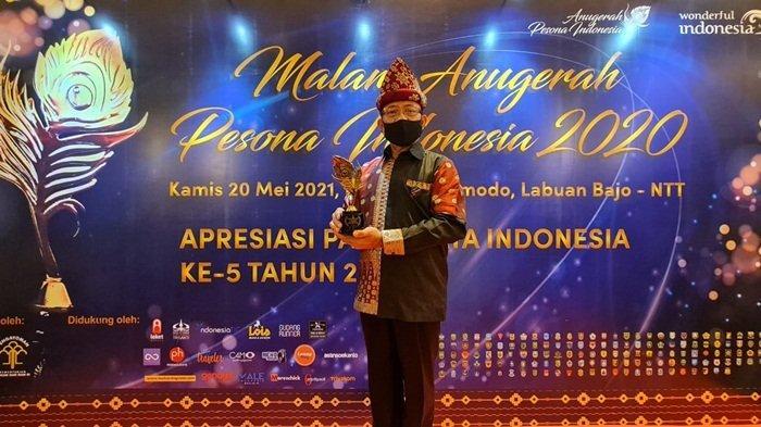 Disbudpar Sumsel Berhasil Menyabet 8 Penghargaandi Anugerah Pesona Indonesia Award 2020