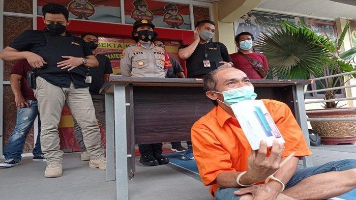 'Saya Butuh Makan', Pura-pura Minta Sumbangan, Kakek di Palembang Nyolong HP