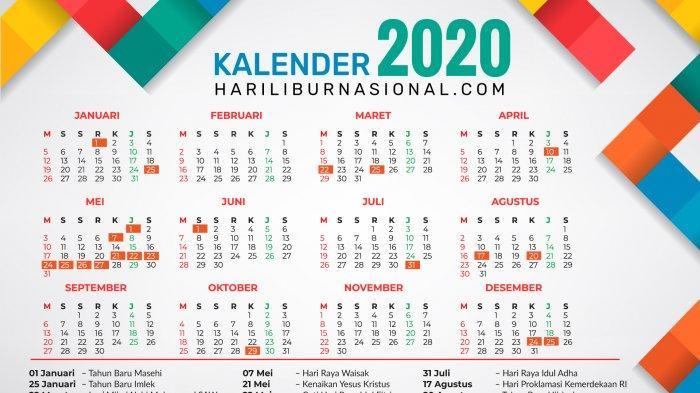Cuti Bersama Idul Fitri Resmi Digeser Di Akhir Tahun Ini Jadwal Lengkap Libur Dan Cuti Bersama 2020 Halaman All Sriwijaya Post