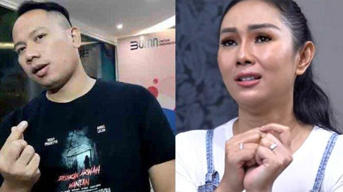 Baru Saja Bagi Kabar Hamil, Kalina Dibuat Makan Hati Kelakuan Suami, Vicky Prasetyo Minta Poligami