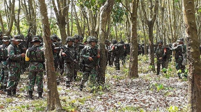 KUNCI Perbatasan, TNI Kerahkan Pasukan 'Garuda Merah,'Kepung Wilayah Gerilya KKB Papua