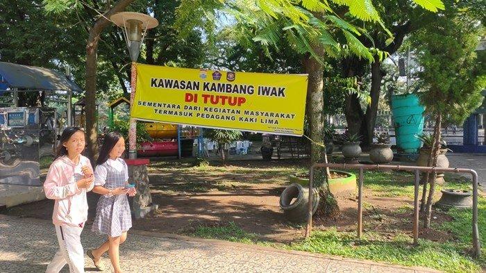BREAKING NEWS: Kambang Iwak Ditutup dari Semua Aktivitas, Termasuk Pedagang Kaki Lima