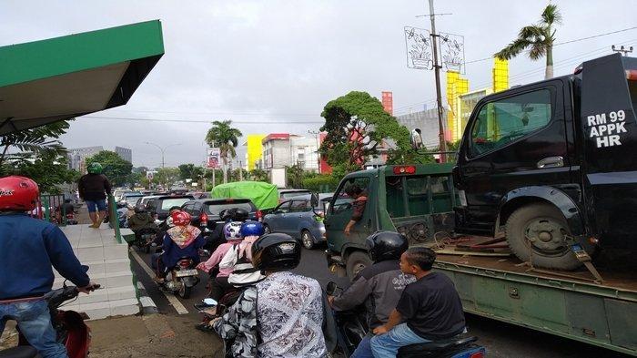 Ini Jalan-jalan di Palembang yang Terendam Banjir Pasca Hujan Deras