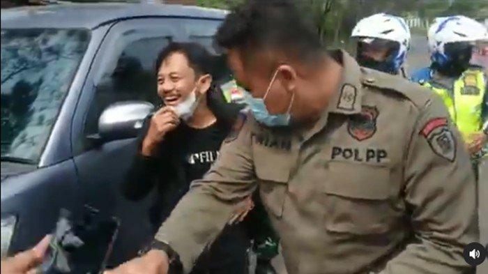 'Hampura Kang Mus' Epy Kusnandar Preman Pensiun Dicegat di Pos Penyekatan, Sikapnya Jadi Sorotan