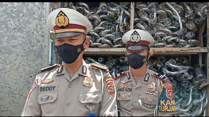 Satlantas Polres Tangkap Pemasok 1000 Unit Kenalpot Brong