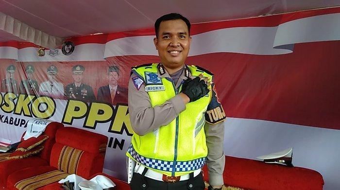 Suka Duka Ipda Ricky Jadi Kanit Turjawali Satlantas Polres Banyuasin: Kadang Kami tidak Mandi