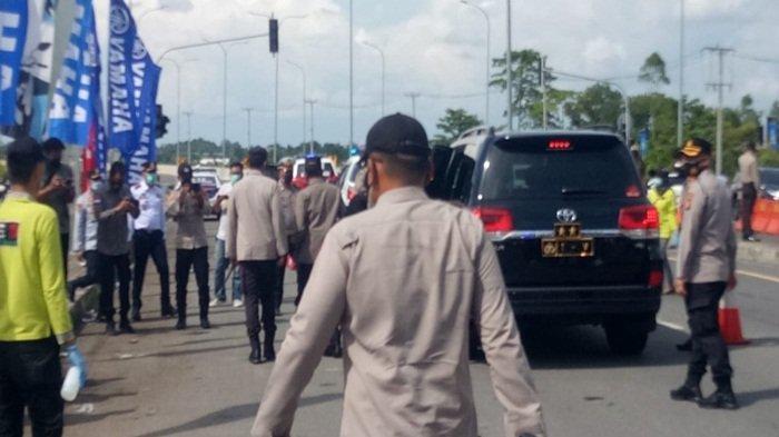 Kapolda Tinjau Kesiapan Titik Penyekatan Gerbang Exit Tol Celikah, 205 Personil Diterjunkan 4 Lokasi