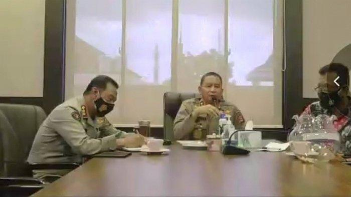 Kapolda Sumsel Gelar Zoom Meeting Bersama Wartawan, Ingatkan Masyarakat Soal Kebakaran Hutan