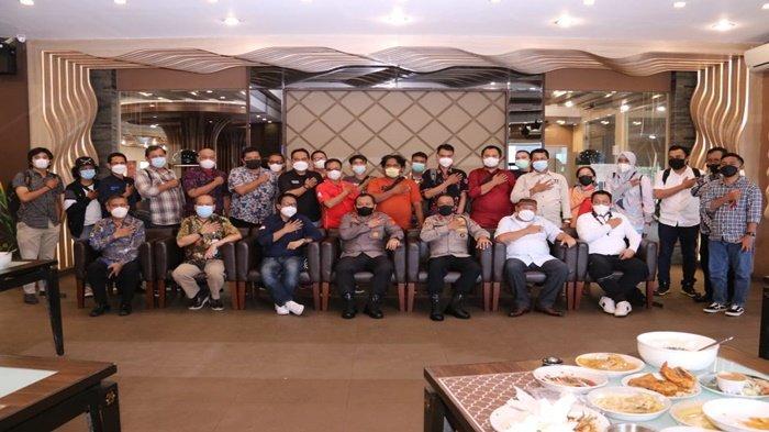 Silaturahmi Kapolda & Wartawan, Firko: Meningkatkan Sinergitas Kolaborasi Awak Media dengan Polisi