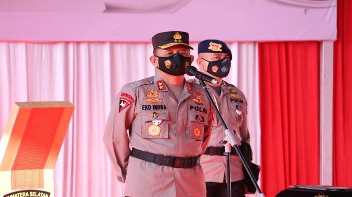 Kapolda Sumsel, Irjen Pol Eko Indra Heri S MM