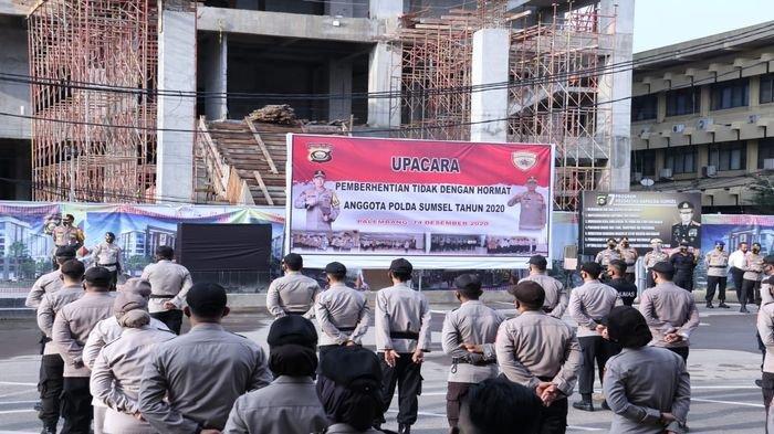 Kapolda Sumsel Pecat 8 Personil Anggota Polri, Terlibat Narkoba hingga Pidana Penggelapan