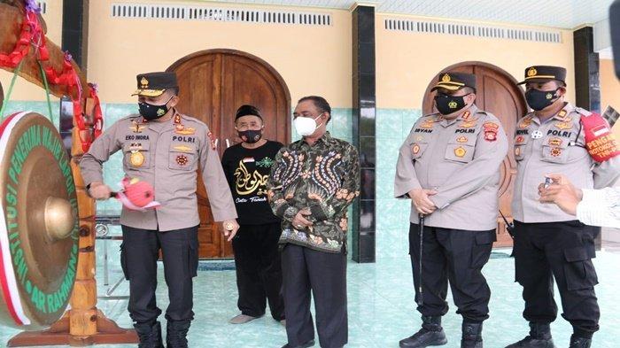 Irjen Pol Eko Resmikan Masjid Pusat Rehabilitasi Narkoba Yayasan Ar Rahman di Jakabaring
