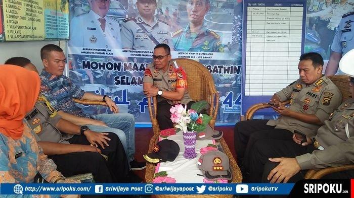 Pantau Pos PAM Lebaran di Pagaralam, Kapolda Sumsel Minta Petugas Ramah dan Sopan kepada Pemudik