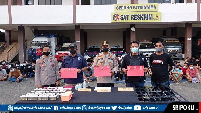 Kapolres Lubuklinggau AKBP Nuryono menegaskan dari 227 orang yang diamankan oleh Polres Lubuklinggau dan BNN Kota Lubuklinggau 190 orang positif narkoba
