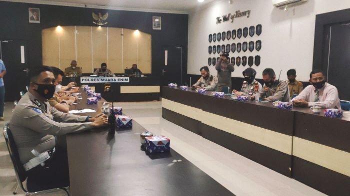 Polres Muara Enim Ikuti Launching ETLE Nasional Tahap I