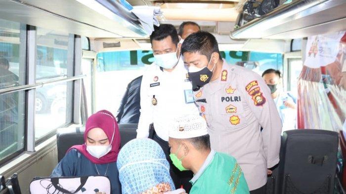 100 Warga Binaan Lapas Muara Enim Disuntik Vaksin Covid-19, Dipantau Langsung AKBP Danny Sianipar