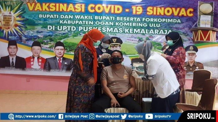 AKBP Arif Hidayat Ritonga dan Istri 2 Kali Divaksin, 'Alhamdulillah Kondisi SayaSehat-sehat Saja'