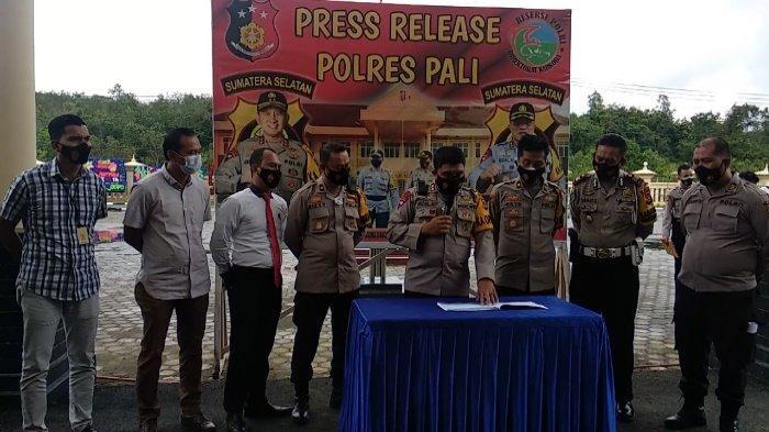 Curat Masih Dominasi Kejahatan di Kabupaten PALI, Jajaran Polres PALI Selama 2020 Amankan 131 Orang
