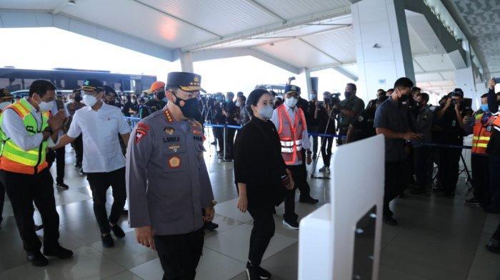 KAPOLRI Minta Perketat Pengawasan Warga dari Luar Negeri, Tinjau Arus Mudik di Bandara Soetta