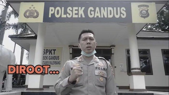 Viral di Media Sosial, Kapolsek Gandus Palembang Willian Harbensyah Larang Warga Mudik Lebaran