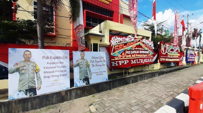 Dimutasi, Kapolda Sumsel Irjen Pol Eko Indra Heri Banjir Dukungan dari Sejumlah Masyarakat Sumsel