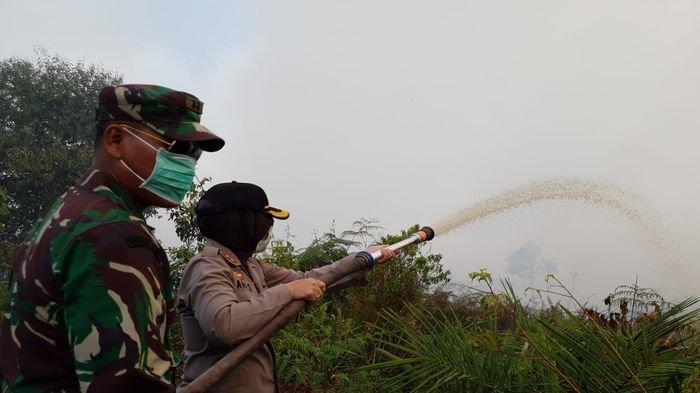 32 Hektare Lahan di Muba Terbakar,BPBD Muba Tetapkan Status Siaga Darurat