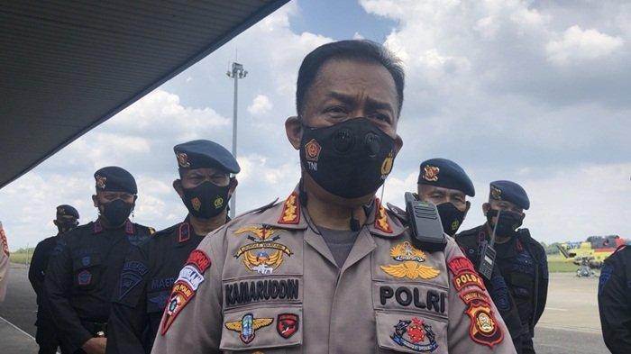 KAWAL Keamanan di PON XX Papua, Polda Sumsel Kirim 1 SSK Personel Brimob